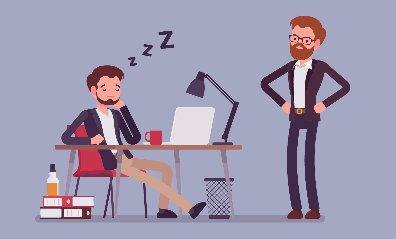 #LetsTalkMillennials workplace survival guide - how to stay awake at work