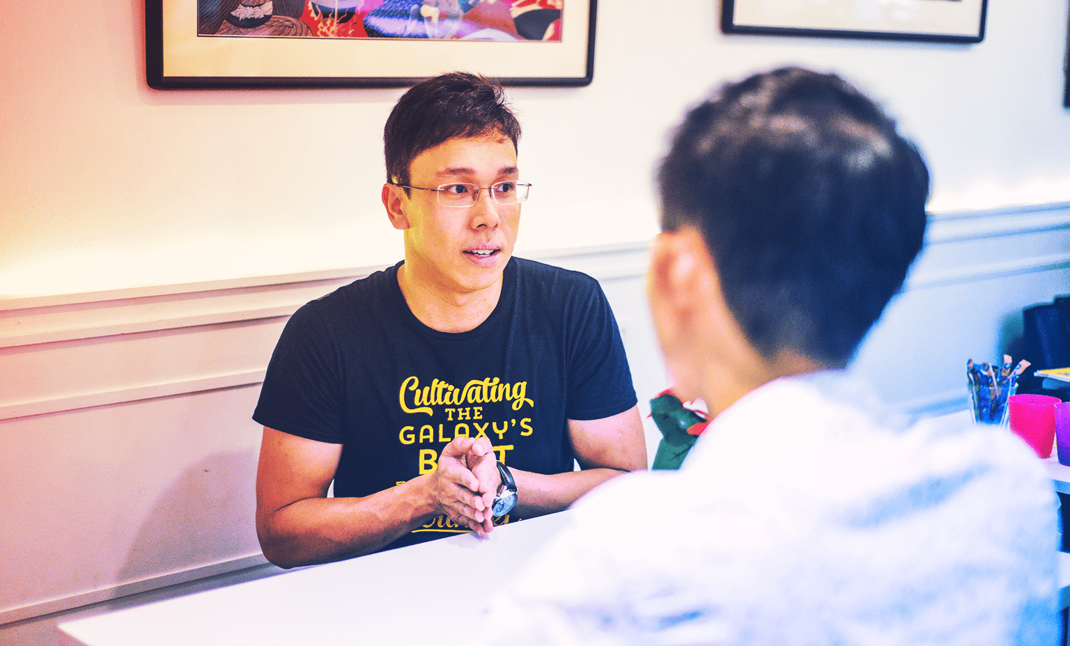 Surviving a Startup Environment: Mentoring aspiring changemakers - Khairul Rusydi being interviewed