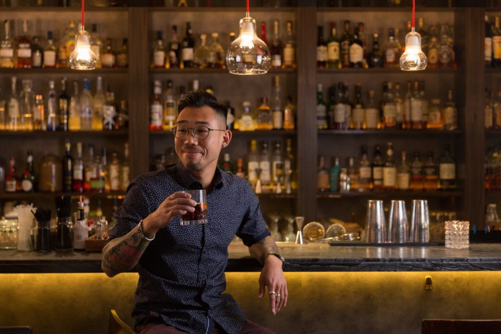 Samuel Kwok helms Quinary as a bar manager