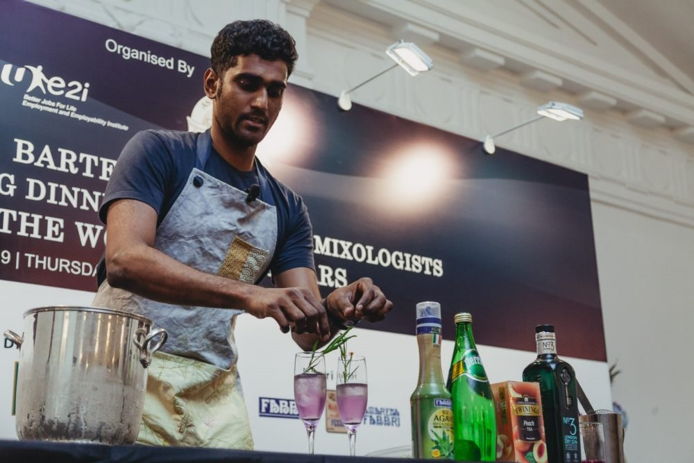 Vijay Mudaliar reads a wide range of topics to improve his skills as a mixologist.