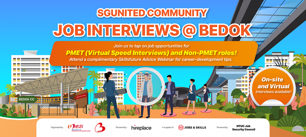 SGUnited Community Job Interviews @Bedok